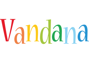 Vandana birthday logo