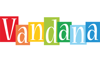 Vandana colors logo