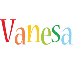 Vanesa birthday logo