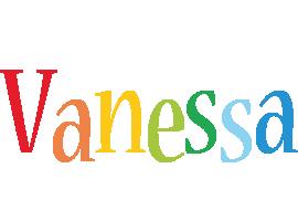 Vanessa birthday logo