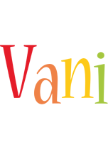 Vani birthday logo