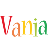 Vania birthday logo