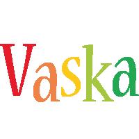 Vaska birthday logo