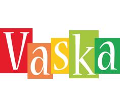 Vaska colors logo