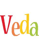 Veda birthday logo