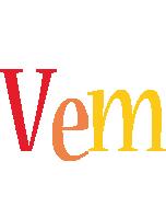 Vem birthday logo