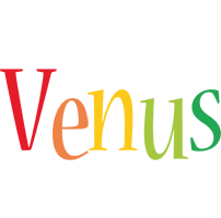Venus birthday logo