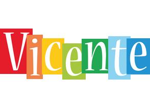 Vicente colors logo