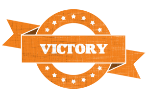 VICTORY logo effect. Colorful text effects in various flavors. Customize your own text here: http://www.textGiraffe.com/logos/victory/