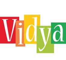 Vidya colors logo