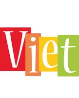 Viet colors logo