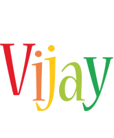Vijay birthday logo