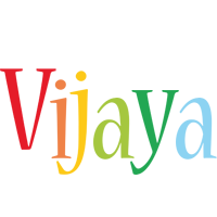 Vijaya birthday logo