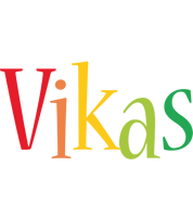 Vikas birthday logo