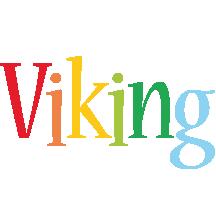 Viking birthday logo