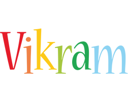 Vikram birthday logo