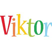 Viktor birthday logo