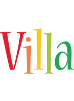 Villa birthday logo