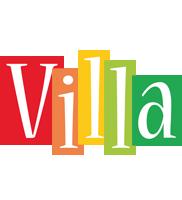 Villa colors logo