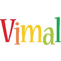 Vimal birthday logo