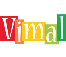 Vimal colors logo