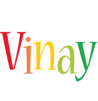 Vinay birthday logo