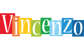 Vincenzo colors logo