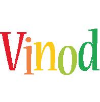Vinod birthday logo