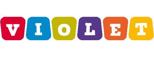 Violet kiddo logo