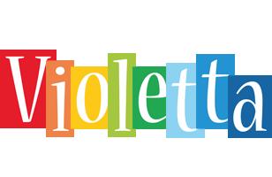 Violetta colors logo