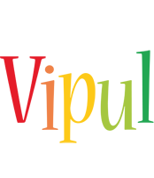 Vipul birthday logo