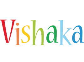 Vishaka birthday logo