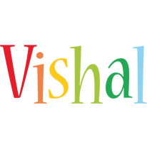 Vishal birthday logo