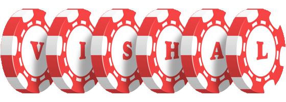 Vishal Logo | Name Logo Generator - Gambler, Poker Chip