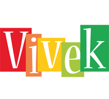 Vivek colors logo