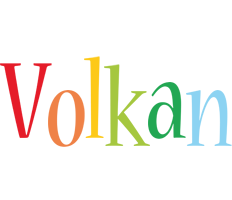 Volkan birthday logo