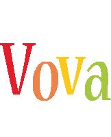 Vova birthday logo