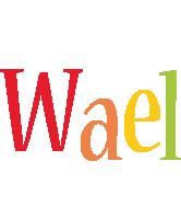 Wael birthday logo