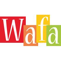 Wafa colors logo