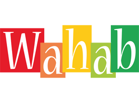 Wahab colors logo