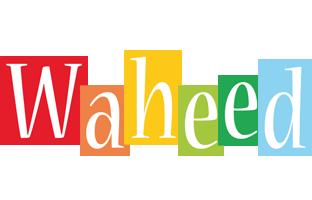 Waheed colors logo