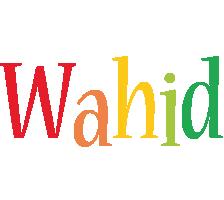 Wahid birthday logo