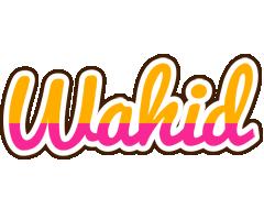 Wahid smoothie logo