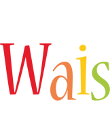 Wais birthday logo