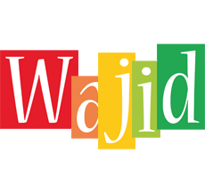 Wajid colors logo