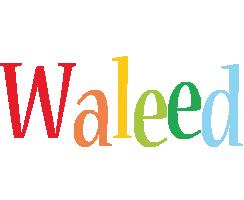 Waleed birthday logo