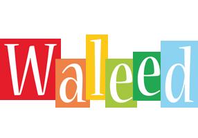 Waleed colors logo