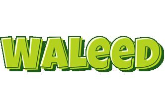 Waleed summer logo