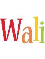Wali birthday logo
