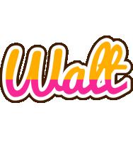 Walt smoothie logo
